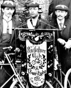 Registro do primeiro Clube de bicicletas do Brasil, em Curitiba, 1895